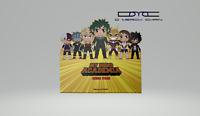 "New Authentic My Hero Academia  Mini Vinyl Figures 3"" Kawaii Titans Collections"