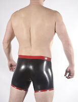 "zip drop front opening Rubber /""Sailors/"" SHORTS OPEN BACK alternative colours"
