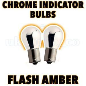 2x Ford Focus 1998-2001 & KA s Chrome Indicator Bulbs