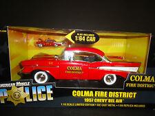 Ertl Chevrolet Bel Air 1957 Colma Fire District 1/18