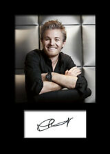 NICO ROSBERG #1 Signed Photo Print A5 Mounted Photo Print - FREE DELIVERY
