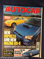 AUTOCAR Magazine 13th November 2002 Impreza & RX-8