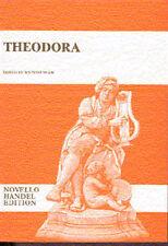 Handel Theodora VOCAL SCORE imparare a cantare CORO Choral VOCE MUSICA LIBRO