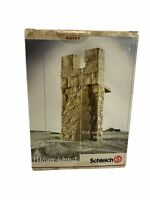 Schleich World Of Knights Castle - 40197- Wall Narrow Retired - NEW SEALED