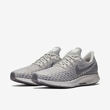 Nike Women's Air Zoom Pegasus 35 Running Shoes Phantom Gray White 942855-004 NEW