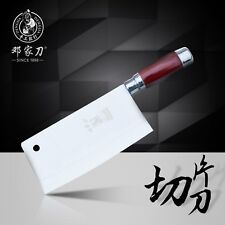 DENG Handmade Kitchen Chef Knife 9Cr13Mov Stainless Steel Cleaver Cooking Knife