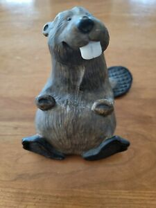 Singing Tree Bearfoots Chip The Beaver Business Card Holder By Jeff Fleming
