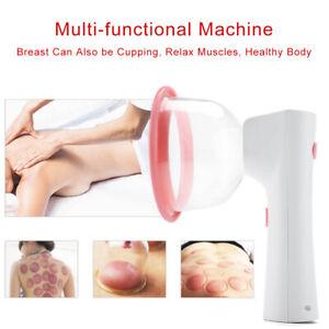 Breast Body Pump Enhancement Vacuum Enlarge Bra Massager Suction Cupping Machine