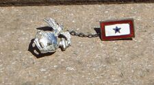 WW2 USMC MARINE CORP MILITARY Patriotic Son in Service Brooch HOME FRONT JEWELRY