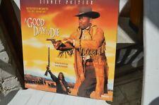 A GOOD DAY TO DIE  Sidney Poitier - NTSC - 2 LaserDisc 9 Pays FREE Mondial Relay