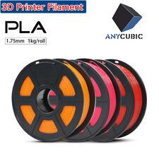 Random Color ANYCUBIC 1.75mm PLA Filament 1KG For 3D Printer Mega Ender 3 Pro AU
