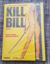 KILL BILL VOLUMEN 1 - 1 DVD 106 MIN QUENTIN TARANTINO NEW SEALED NUEVO EMBALADO