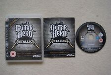 Guitar Hero Metallica PS3 Game -1st Class FREE UK POSTAGE