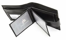 Black Soft Hide leather Wallet Primehide - Gift Boxed - 388