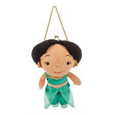 Aladdin Princess Jasmine Plush Girl Doll Coin Purse Hand Bag Chain Disney Store
