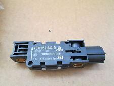 NEW GENUINE AUDI A3 A8 R8 LATERAL ACCELERATION CRASH SENSOR 4B0959643D