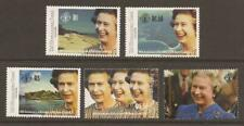 ZIL ELWANNYEN SESEL 1992 SG240/244 40th Anniv. Queen's Accession MNH (JB13901)