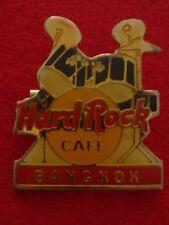 HRC Hard Rock Cafe Bangkok Drum Set Dark Blue Made in Thailand