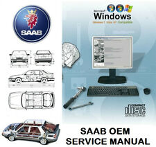 SAAB 9-5 (9600) 1998-2010 Service Repair Workshop Manual WIS & EPC
