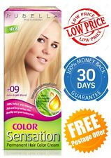 RUBELLA Color Sensation Permanent Hair Dye Colour Cream Grey Hair Coverage