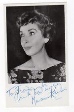 MIRIAM KARLIN 1925-2011 English actress-'The Rag Trade'. Early signed photo
