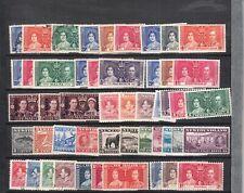 1937 CORONATION OMNIBUS 60 COMPLETE SETS  MINT INC BOTH NEWFOUNDLAND