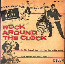 BILL HALEY & HIS COMETS  EP DECCA  ' ROCK AROUND THE CLOCK '  [Suède]  (1)