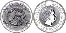 Australien 2 Dollars 2000 - Jahr des Drachen/Dragon, 2 Unzen Silber, Lunar