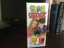 SUPER SIPPERZ STRAWS AND CONNECTORS INCLUDED NEW IN BOX