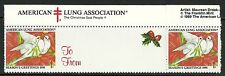 U.S. Christmas Seals - 1990 issue - mnh
