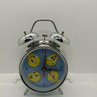 Vintage WB Studio Store Tweetie Bird Twin Bell Chrome Alarm Clock 2000