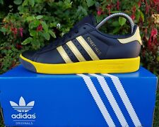 BNWB & Genuine adidas originals ® Forest Hills Retro Black Trainers UK Size 11