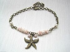 Shell Alloy Costume Anklets