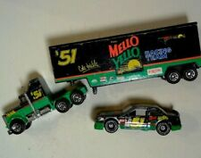 VINTAGE-LOT 90's Matchbox Days Of Thunder Race-Car Transport & Mellow Yellow #51