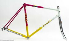 Basso 56cm steel frameset Campagnolo BB classic road bike cycling