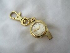 Analog Key Ring Watch with Quartz Movement