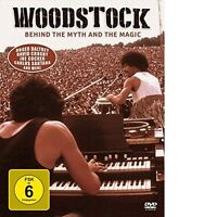 WOODSTOCK - BEHIND THE MYTH AND THE MAGIC 2 DVD NEU
