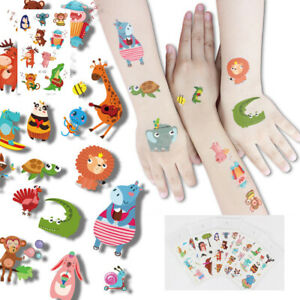 Luminous Sticker Cartoon Mermaid Watch Pattern Children's Fun Temporary Tattoo p