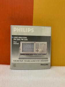 Philips 4022.104.90171 Logic Analyzers PM 3580/PM 3585 User Manual