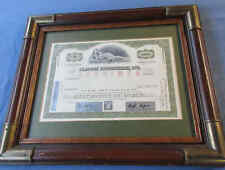 Vintage Original scarce Playboy Enterprises Specimen Stock Certificate - Shares