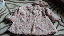 CORKY & CO COMPANY GORGEOUS PINK COAT HAT SET 4 5