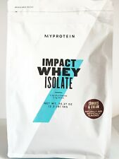 Protein Powder Whey Isolate 2.2lbs  Cookies and Cream NEW Impact