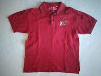 Warner Bros Studio Store Marvin the Martian Golf Shirt Red Mens Size Medium