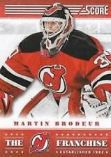 MARTIN BRODEUR GOALIE NEW JERSEY DEVILS 2013-14 SCORE THE FRANCHISE #TF17