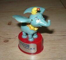 Dumbo Elefant Zappelfigur SIMEX 70er Jahre Mini-Tricky Spielzeug Disney Vintage