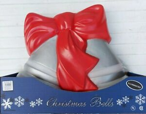 TPI BELLS BLOW MOLD BRAND NEW VINTAGE COLLECTABLE CHRISTMAS DECORATION OUTDOOR
