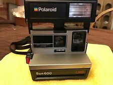 Vintage Polaroid Sun 600 LMS Instant Camera