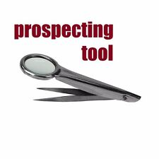 Outdoor Magnifying Magnification for Gold Prospecting Gold Panning	mining nugget