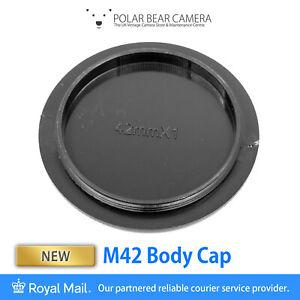 M42 42mm Screw Thread Mount Camera Body Cap [UK STOCK]