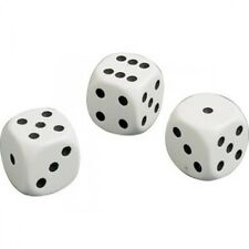 Board Games Club & Casino Indoor Playing White Spot Dice 18 MM Each